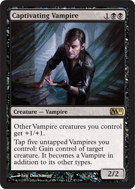 Captivating Vampire | Magic: The Gathering Card