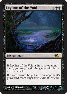 Leyline of the Void | Magic: The Gathering Card