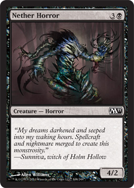 Nether Horror | Magic: The Gathering Card