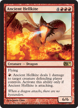 Ancient Hellkite | Magic: The Gathering Card