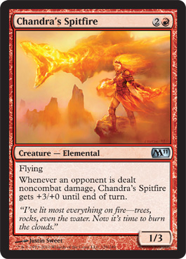 Chandra's Spitfire | Magic: The Gathering Card