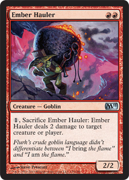 Ember Hauler | Magic: The Gathering Card