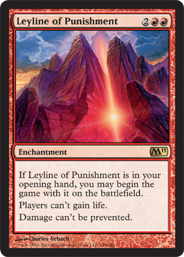 Leyline of Punishment | Magic: The Gathering Card