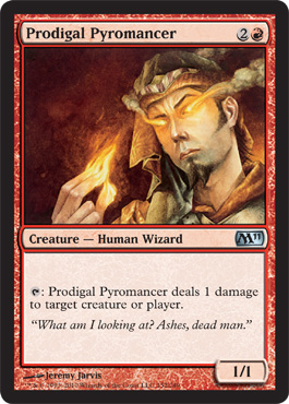 Prodigal Pyromancer | Magic: The Gathering Card