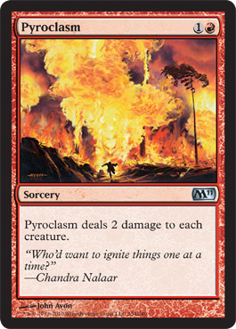 Pyroclasm | Magic: The Gathering Card