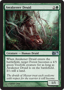Awakener Druid | Magic: The Gathering Card