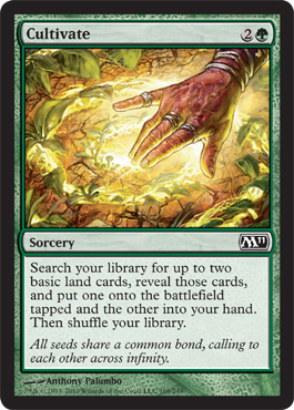 Cultivate | Magic: The Gathering Card