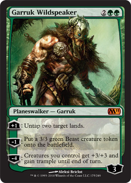 Garruk Wildspeaker | Magic: The Gathering Card