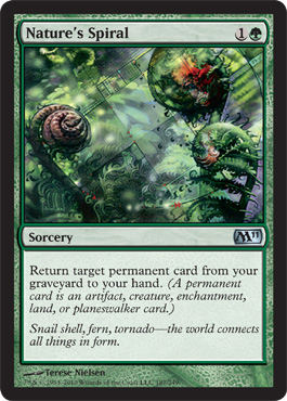 Nature's Spiral | Magic: The Gathering Card