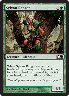 Sylvan Ranger | Magic: The Gathering Card