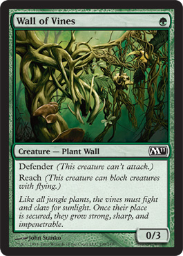 Wall of Vines | Magic: The Gathering Card
