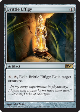 Brittle Effigy | Magic: The Gathering Card