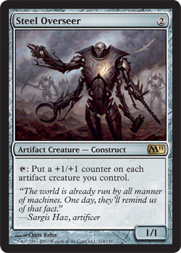 Steel Overseer | Magic: The Gathering Card