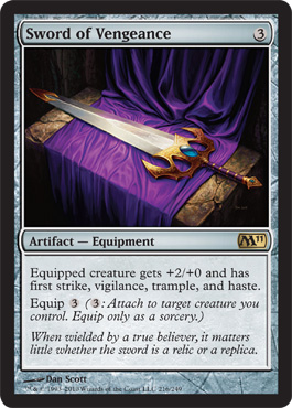 Sword of Vengeance | Magic: The Gathering Card