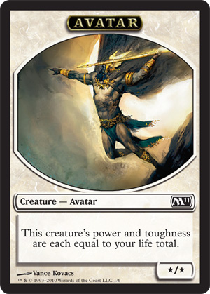 Avatar Token | Magic: The Gathering Card