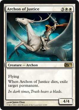 Archon of Justice | Magic: The Gathering Card