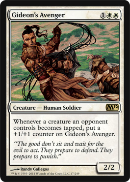 Gideon's Avenger | Magic: The Gathering Card