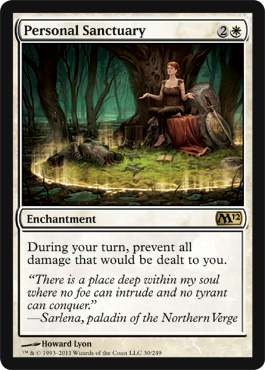 Personal Sanctuary | Magic: The Gathering Card