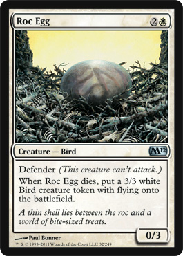 Roc Egg | Magic: The Gathering Card