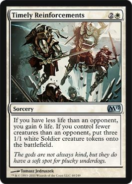 Timely Reinforcements | Magic: The Gathering Card