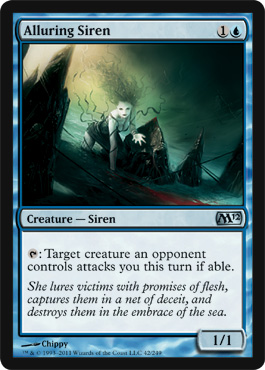 Alluring Siren | Magic: The Gathering Card