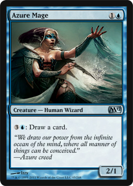 Azure Mage | Magic: The Gathering Card