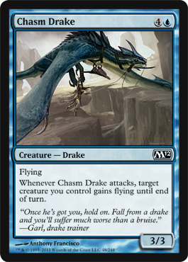 Chasm Drake | Magic: The Gathering Card