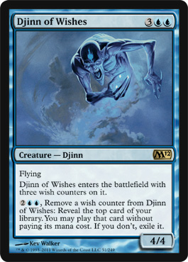 Djinn of Wishes | Magic: The Gathering Card