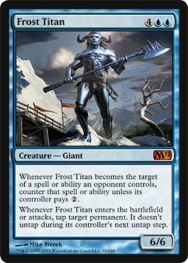 Frost Titan | Magic: The Gathering Card