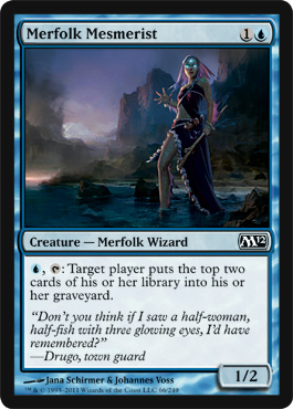 Merfolk Mesmerist | Magic: The Gathering Card