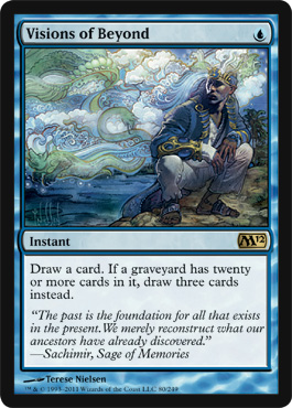 Visions of Beyond | Magic: The Gathering Card