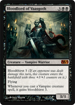 Bloodlord of Vaasgoth | Magic: The Gathering Card