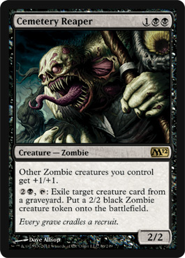 Cemetery Reaper | Magic: The Gathering Card