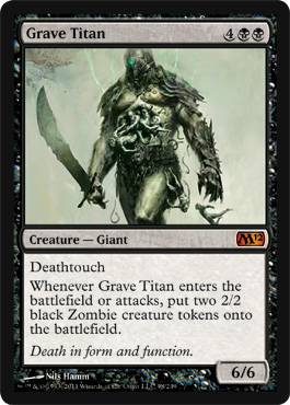 Grave Titan | Magic: The Gathering Card