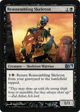 Reassembling Skeleton | Magic: The Gathering Card