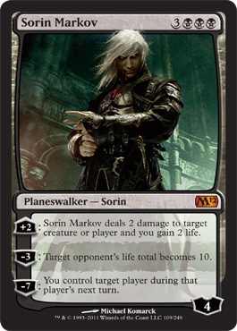 Sorin Markov | Magic: The Gathering Card