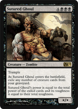 Sutured Ghoul | Magic: The Gathering Card