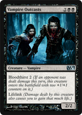 Vampire Outcasts | Magic: The Gathering Card