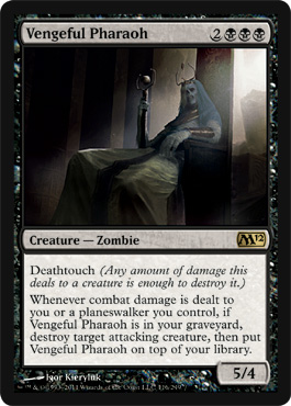 Vengeful Pharaoh | Magic: The Gathering Card