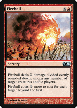 Fireball | Magic: The Gathering Card