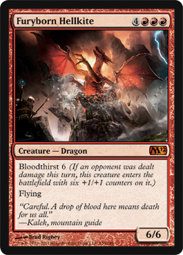 Furyborn Hellkite | Magic: The Gathering Card