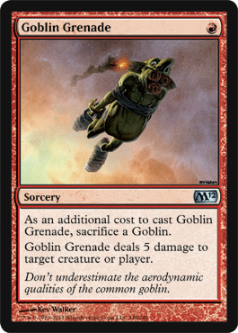 Goblin Grenade | Magic: The Gathering Card