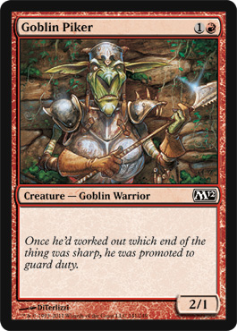 Goblin Piker | Magic: The Gathering Card