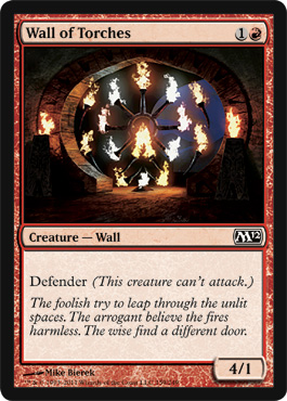 Wall of Torches | Magic: The Gathering Card