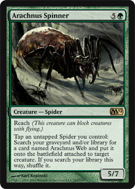 Arachnus Spinner | Magic: The Gathering Card