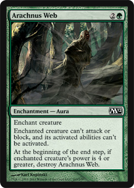 Arachnus Web | Magic: The Gathering Card