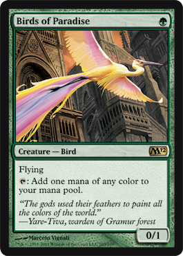 Birds of Paradise | Magic: The Gathering Card