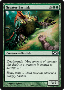 Greater Basilisk | Magic: The Gathering Card
