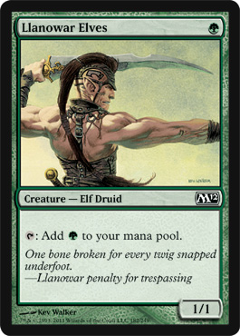 Llanowar Elves | Magic: The Gathering Card