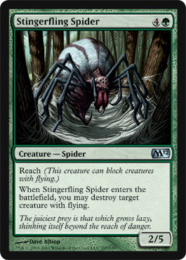 Stingerfling Spider | Magic: The Gathering Card